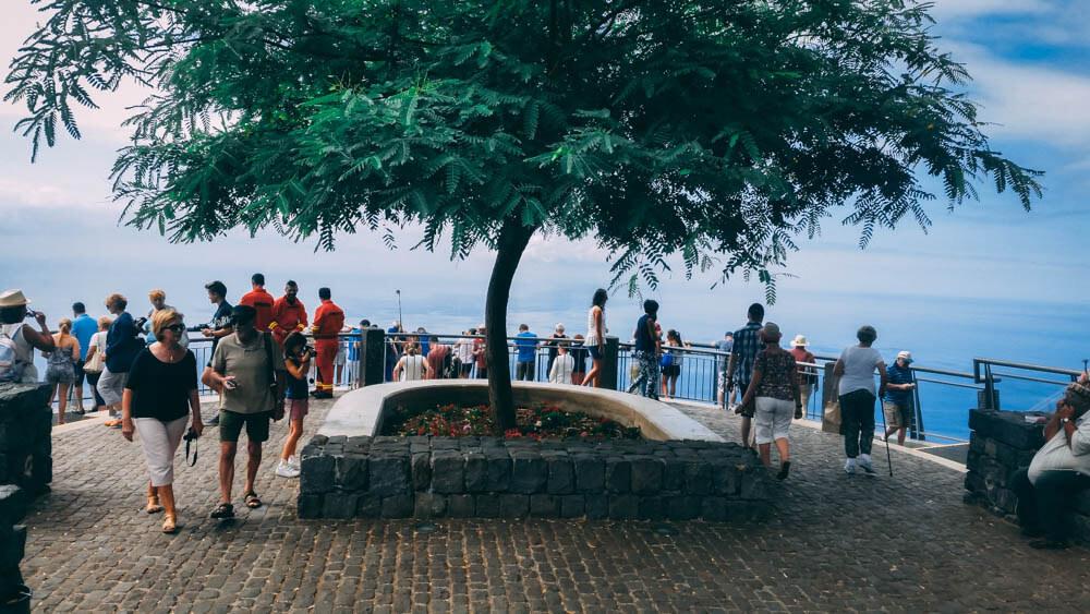 taras klifu Cabo Girao