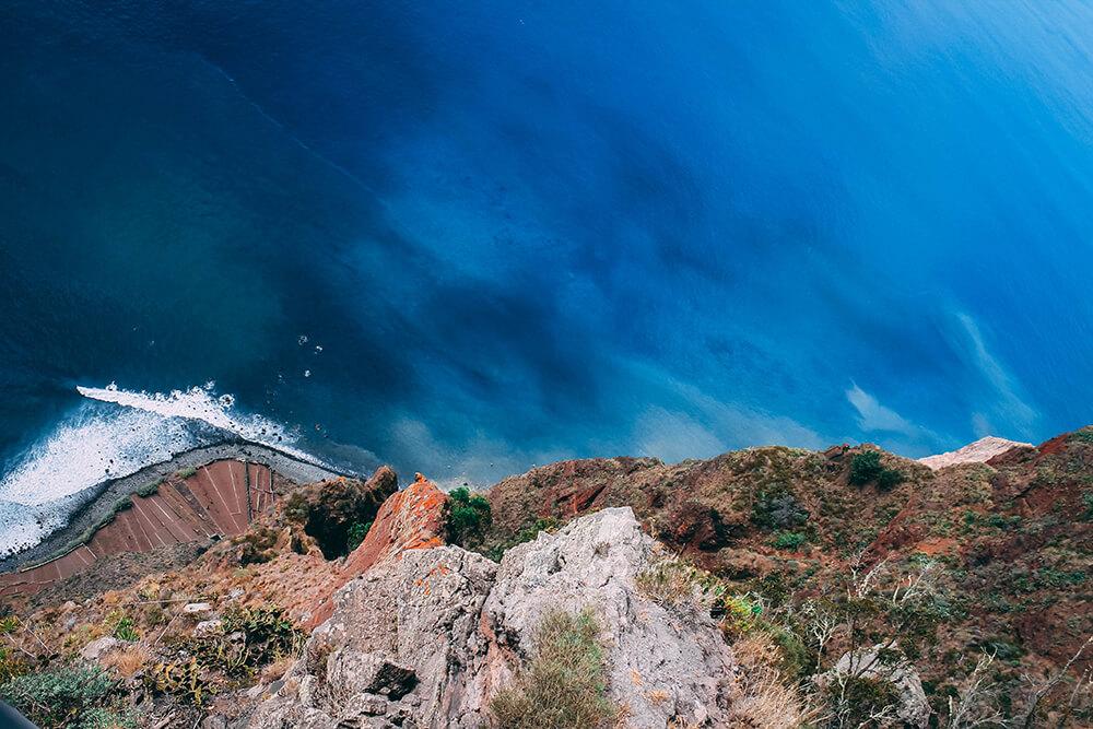 Klif Cabo Girao na Maderze