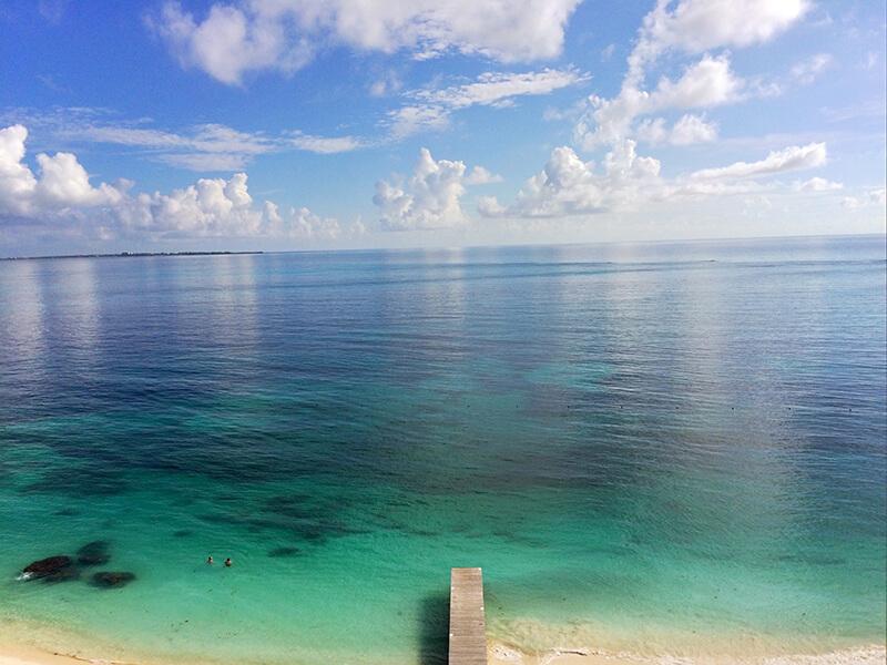 Błękitna woda w Cancun