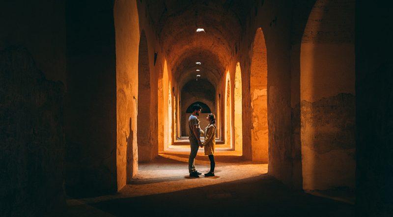 Podziemia w Meknes - więzienie - Maroko