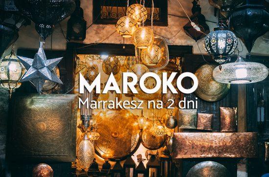 Marrakesz atrakcje Maroka