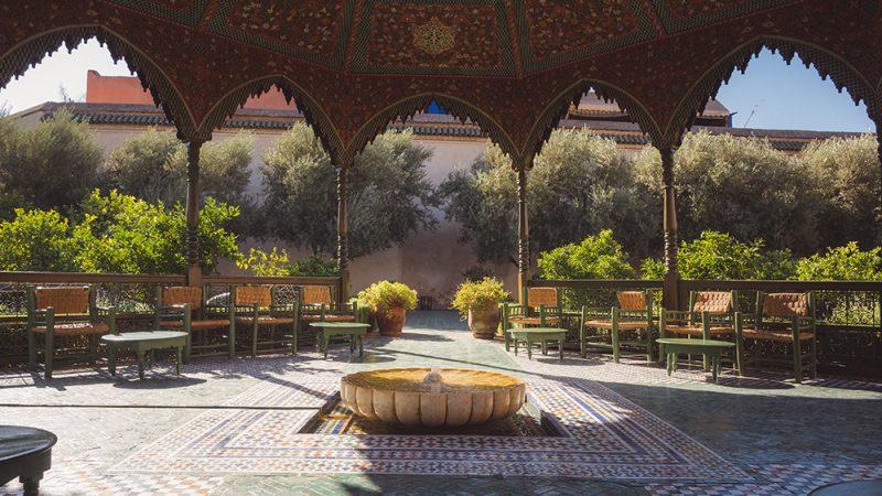 Secret Garden - sekretny ogród Marakeszu