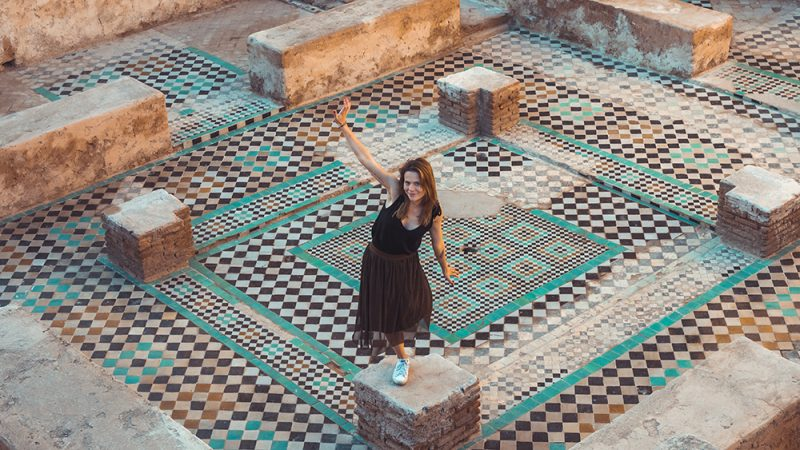 Pałac El Badi - Atrakcje Maroka