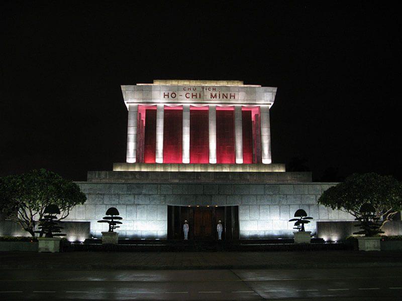 Mauzoleum Ho Chi Minha w Hanoi