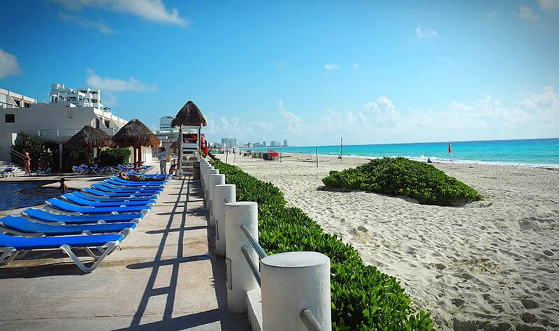 Zona Hotelara - piękne plaże - Meksyk