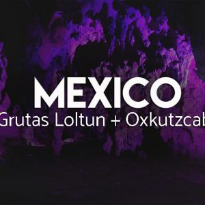 Kolorowe jaskinie Grutas Loltun - Meksyk
