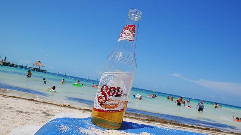 lokalne piwo Sol - Meksyk