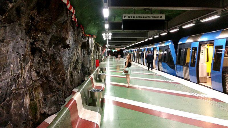 Sztokholm metro -wywczas