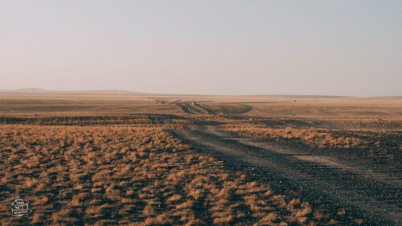 drogi w Mongolii