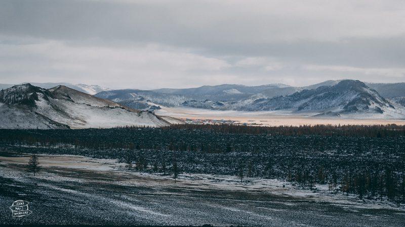 Mongolia zimą - krajobrazy