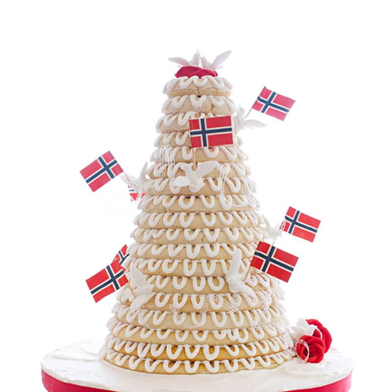 Tort norweski skandynawski