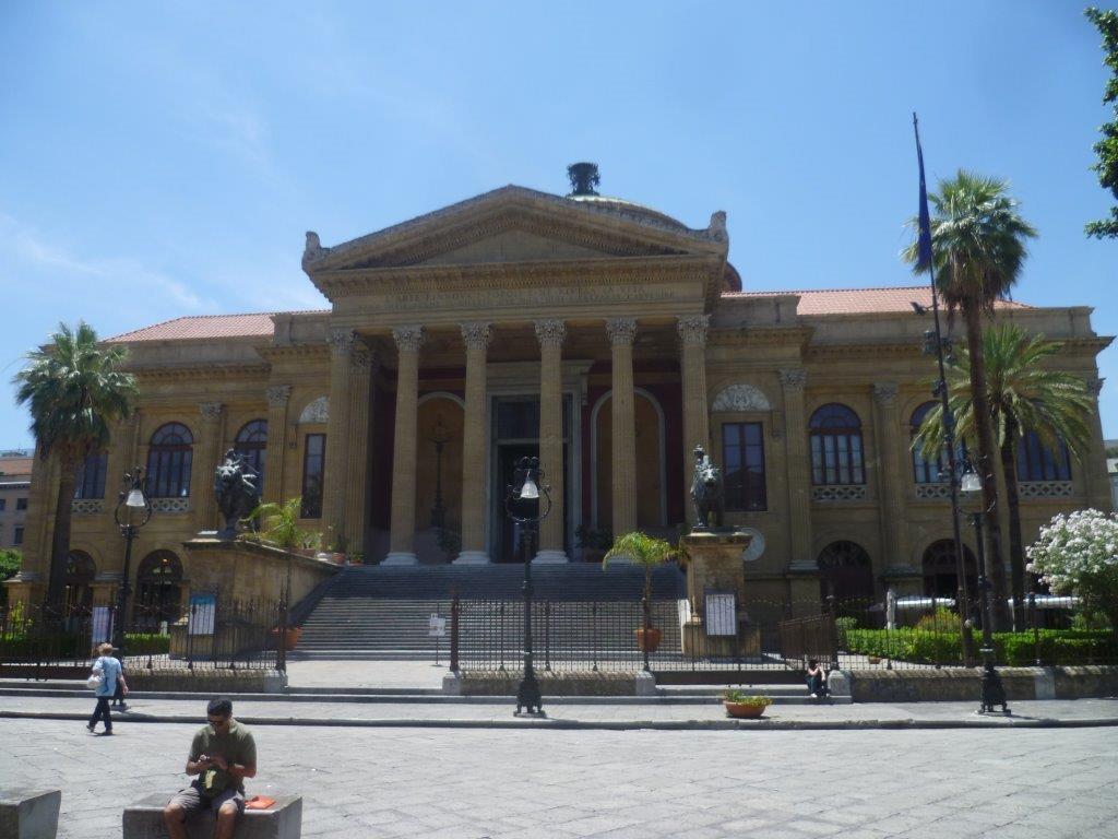 Opera w Palermo Sycylia