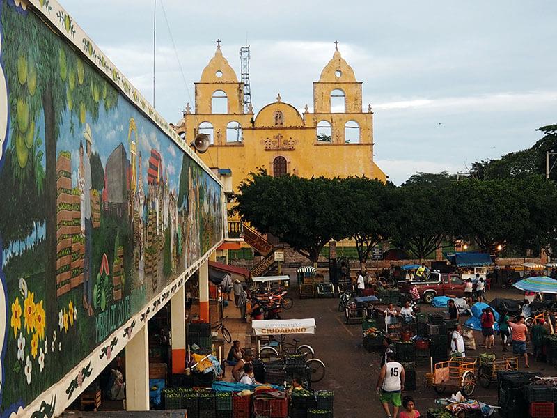 Meksykańskie miasto OXkutzcab