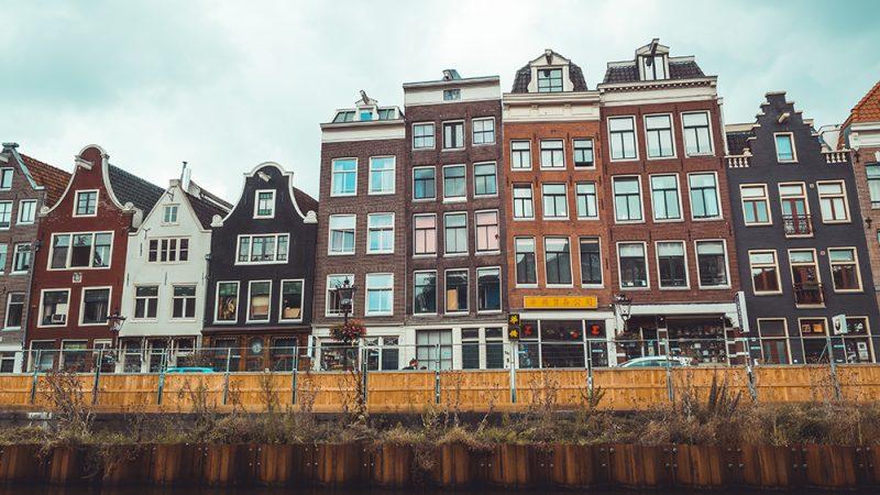 amsterdamskie domy