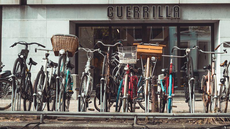 amsterdamskie rowery