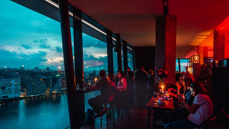 A'dam's lookout Amsterdam bar