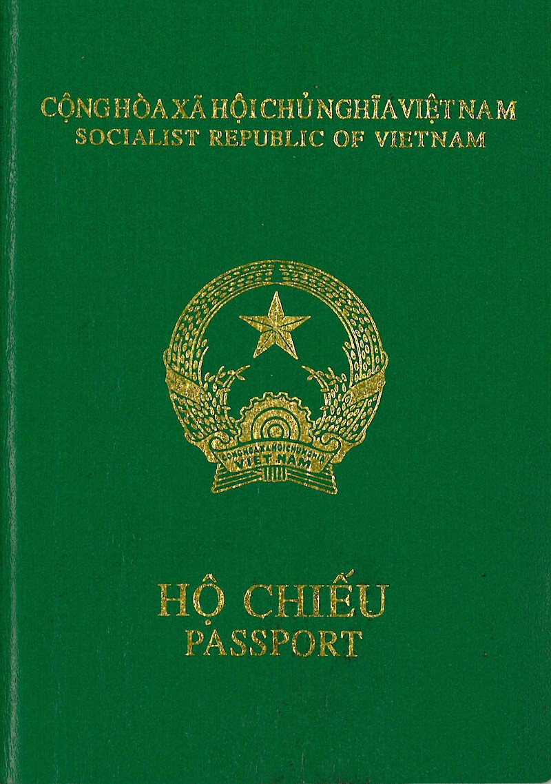 Wietnamski-paszport