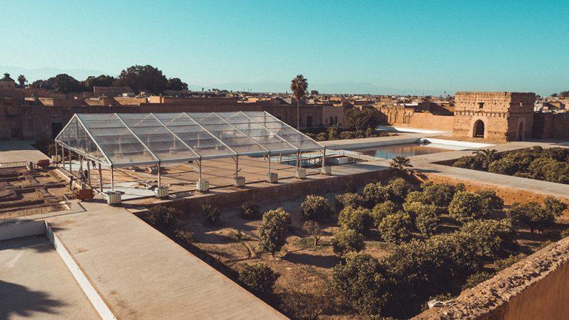 Pałac El Badi - Marrakesh