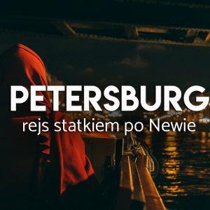 Rejs statkiem w Petersburgu