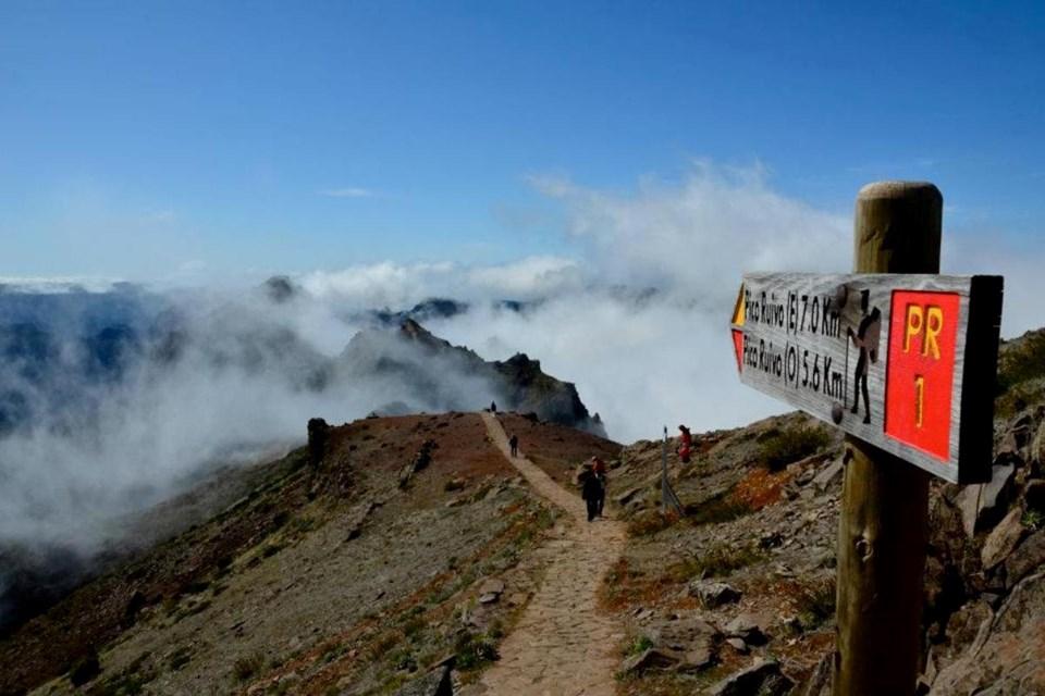 pico ruvio - szczyt Madery