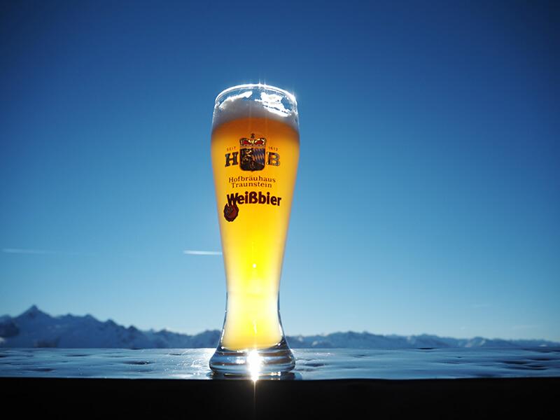 Piwo w górach - Austria