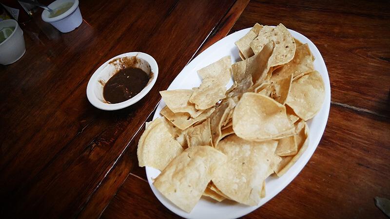 Jedzenie w Meksyku - nachosy