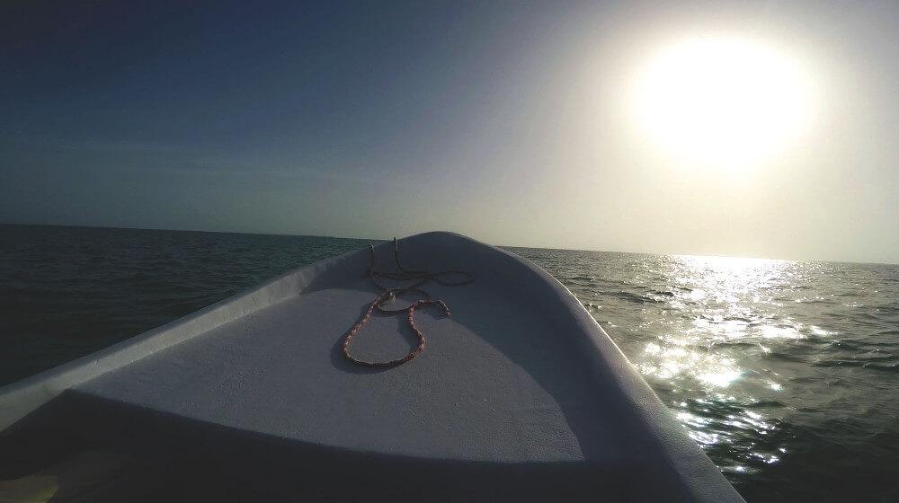 snorkeling-motorówka