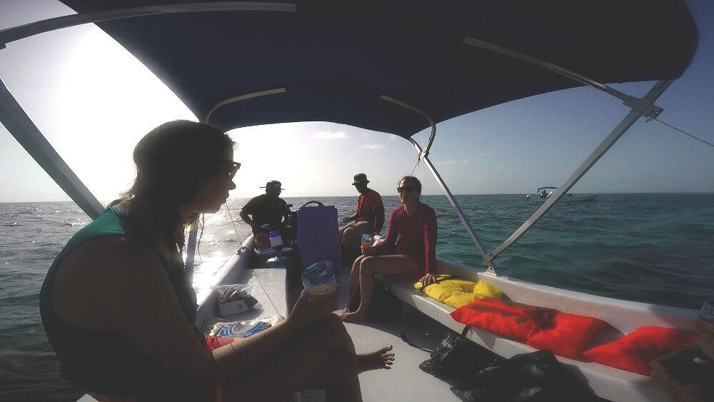 caveman-łódka