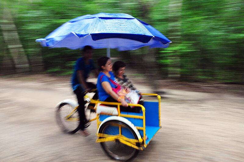 Coba-zwiedzanie-riksza-jukatan