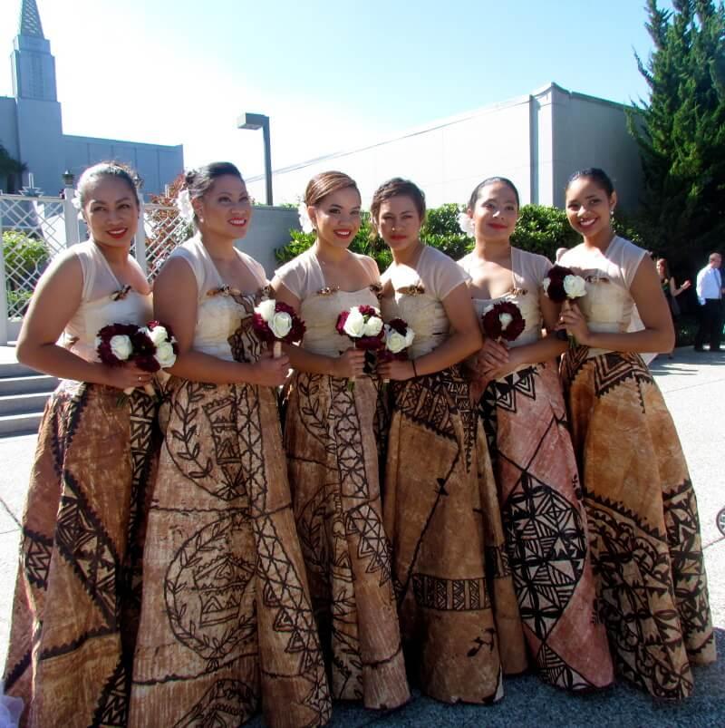 Wedding samoa slub oceania