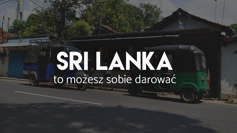 Sri Lanka - atrakcje