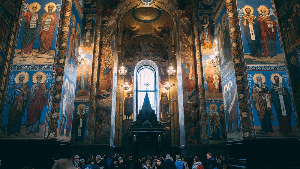 Kościoły-Petersburga