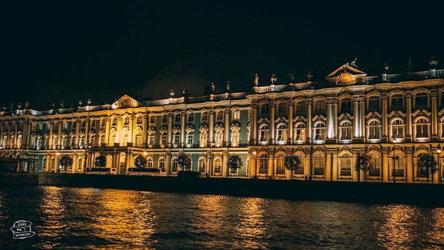 nocny rejs po Newie - Petersburg