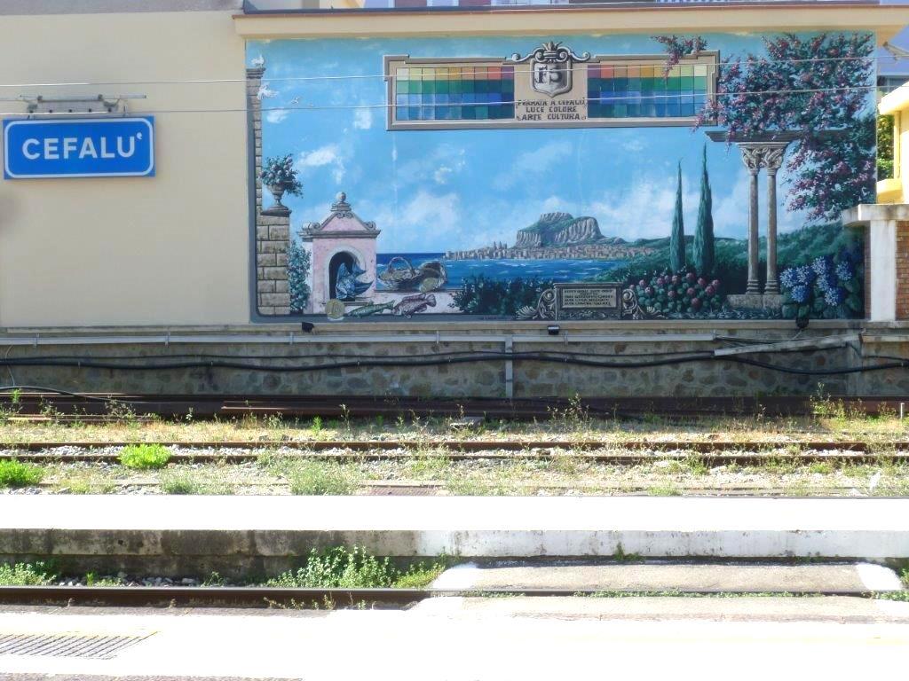 Cefalu stacja kolejowa