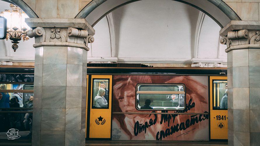 metro w Moskwie