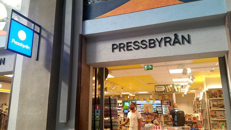 Sztokholm pressbyran