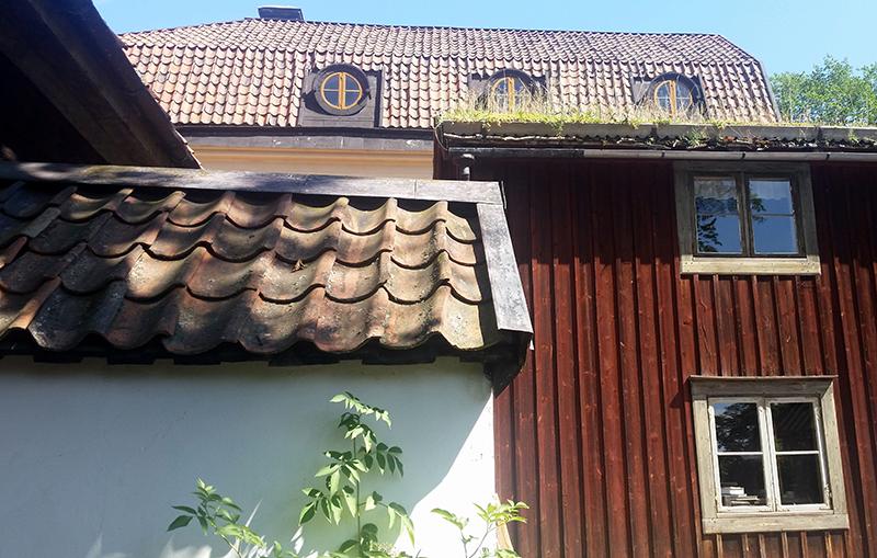 Sztokholm Skansen chatki wywczas