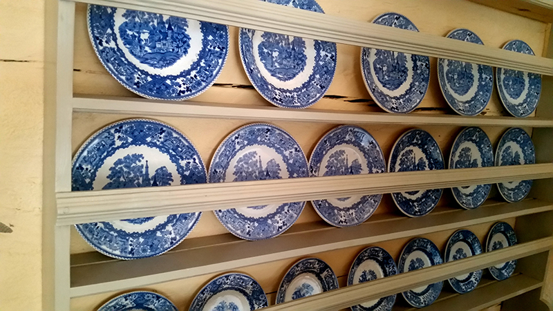 Sztokholm Skansen porcelana
