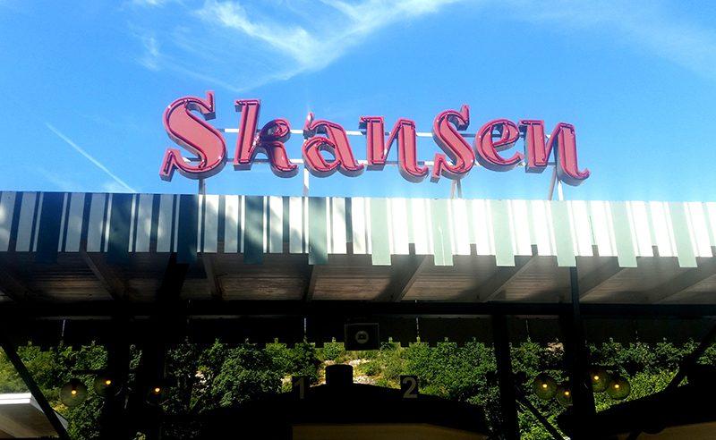 Sztokholm Skansen wejście