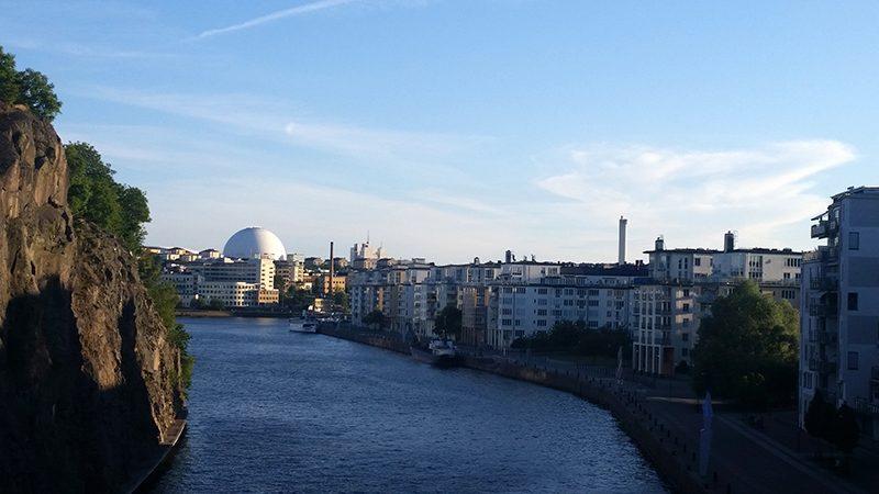 Sztokholm widok na miasto