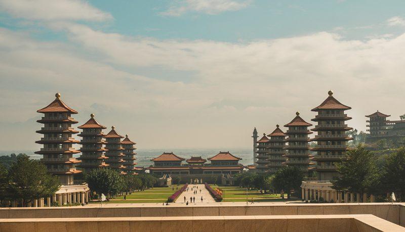 Fo Guang Shan - Wielka Ścieżka, pagody i Muzeum Buddy