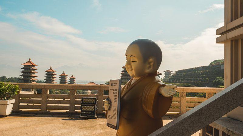 Fo Guang Shan -świątynia na Tajwanie