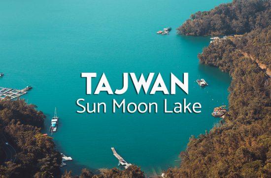 atrakcje sun moon lake w Tajwanie