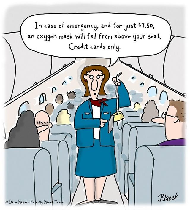 tanie linie lotnicze - smutna prawda