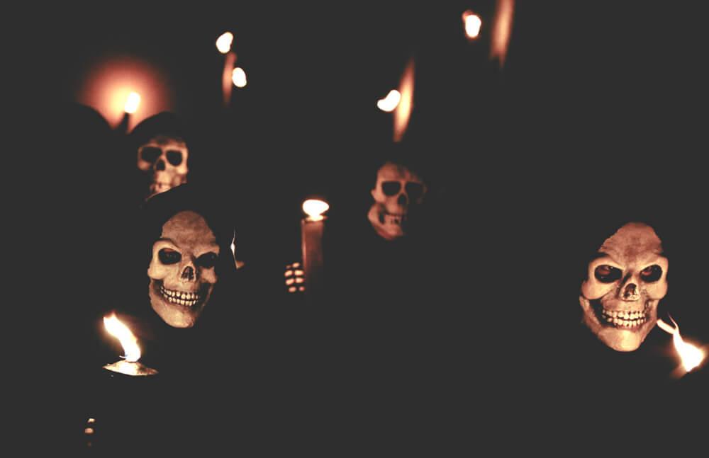 Taniec śmierci na Wielkanoc - tradycja Hiszpanii