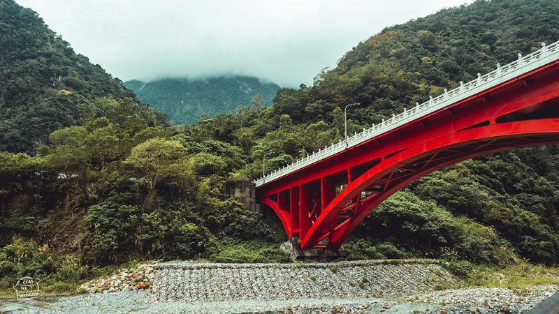 czerwony most w tarko park Tajwan