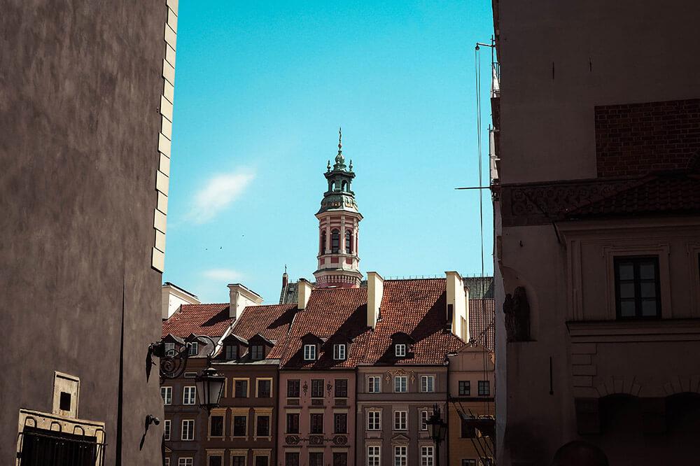 Warszawska starówka - rynek miasta