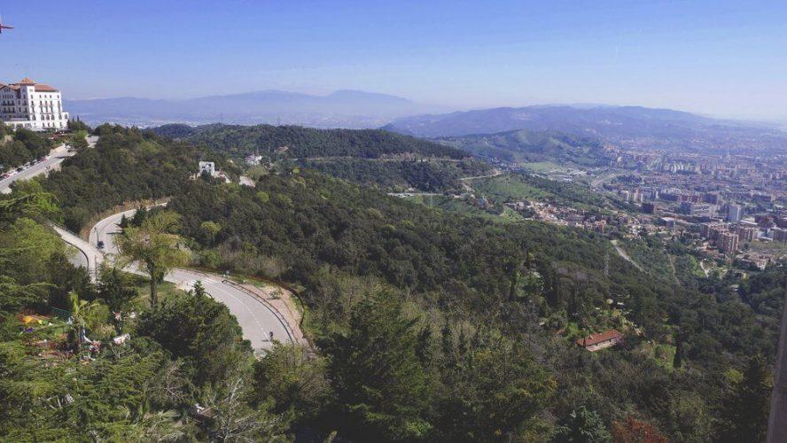 park-poniżej-tibidabo