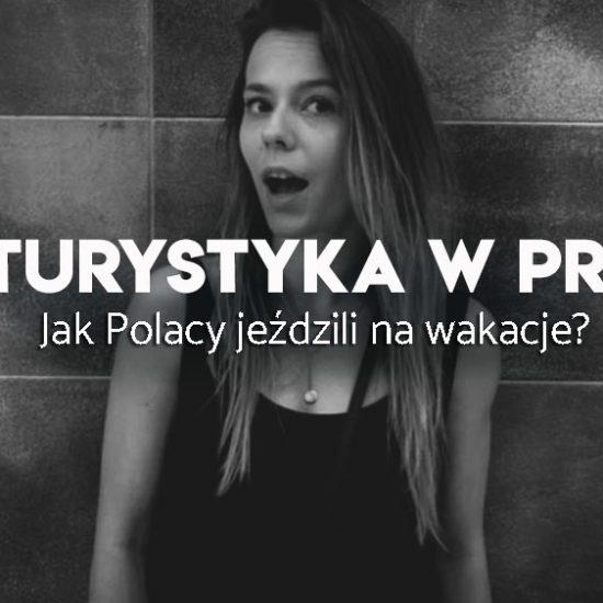 turystka w czasach PRL