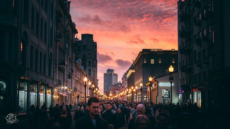 ulica Arbat w Moskwie